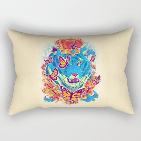 The Siberian Monarch Rectangular Pillow