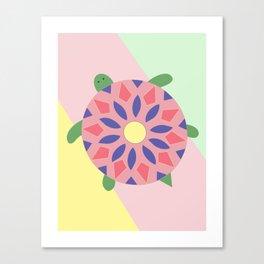 Turtle Stroll Canvas Print
