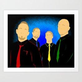 V-band Art Print