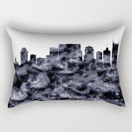 Nashville Skyline Tennessee Rectangular Pillow
