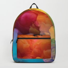 Colorful Smoke Abstract Backpack