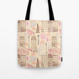 New York City 1900 Tote Bag