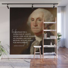 Participation Trophies Wall Mural