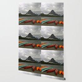 Two Medicine Lake With Sinopah Mountain Wallpaper