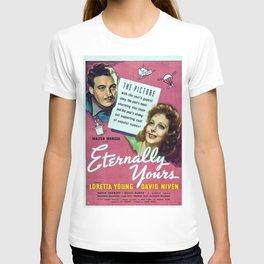 Vintage Movie Posters, Eternally Yours T-shirt