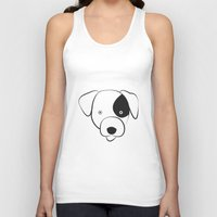 jack russell Tank Tops featuring Jack Russell by anabelledubois
