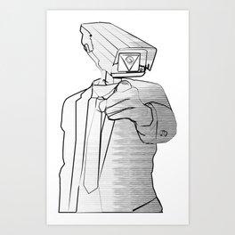 Sir Veillance Art Print