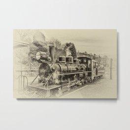 Philadelphia 61269 Antique Metal Print