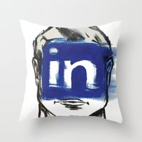 instagram Throw Pillows featuring O'Prime instagram by O'Prime