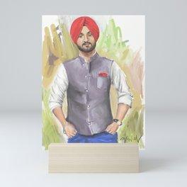 Diljit Dosanjh Mini Art Print