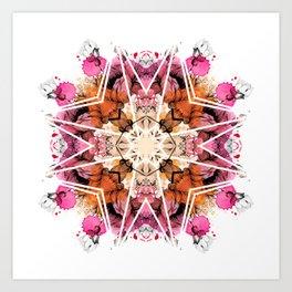 Kally Art Print