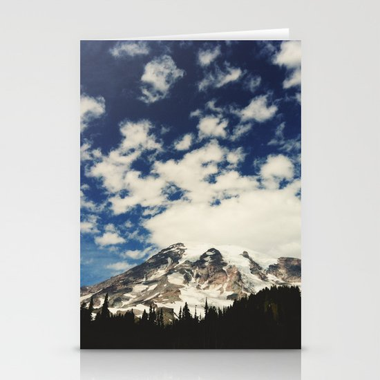 Mount Rainier: Captured on an iPhone Stationery Cards