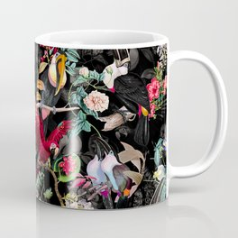 Floral and Birds IX Coffee Mug