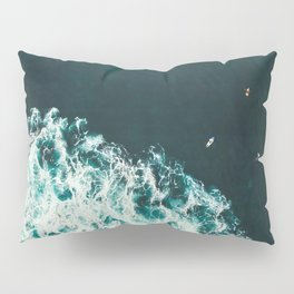 WAVES - OCEAN - SEA - WATER - COAST - PHOTOGRAPHY Pillow Sham