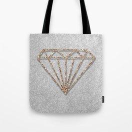 Glitter Diamond Tote Bag