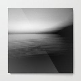 Flow (B&W) Metal Print