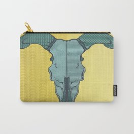 Death Valley | Green & Gold Tears Carry-All Pouch