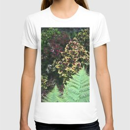 Painted Nettles and Ferns T-shirt