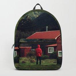 Red stalker hood! Backpack