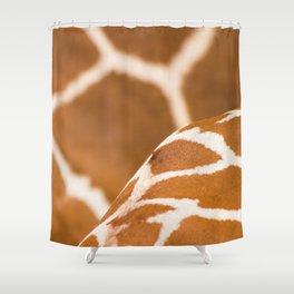 Wildlife Collection: Giraffe Shower Curtain