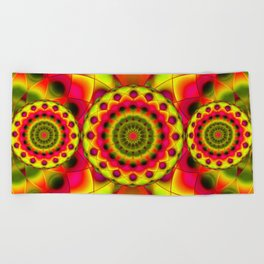 Psychedelic Visions G144 Beach Towel