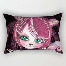 Cheshire Kitty Rectangular Pillow