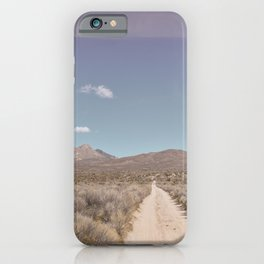 Dirt Road Dreams iPhone Case