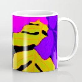 Tropical Floral Delight Mixed Pink Coffee Mug