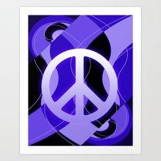 Peace Symbol Design 001 Art Print