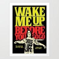 Wake Me Up Art Print