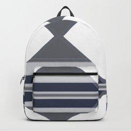 Bold Geometrical Modern Design Backpack