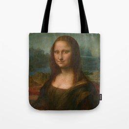 Mona Lisa Classic Leonardo Da Vinci Painting Tote Bag