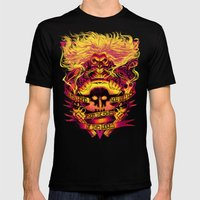 IMMORTAN JOE: THE ASHES OF THIS WORLD MEDIUM Mens Fitted Tee Black