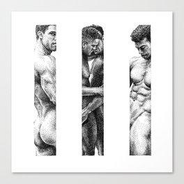 NOODDOOD Strips 1-3 Canvas Print