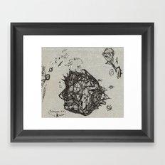 Microcosm of a Kingdom Framed Art Print