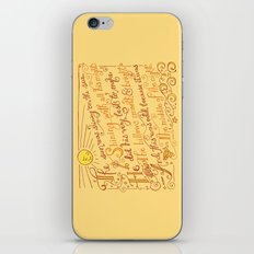 The Walrus and the Carpenter, Stanza 1 iPhone & iPod Skin