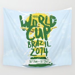 FIFA World Cup Brazil 2014 Print Wall Tapestry