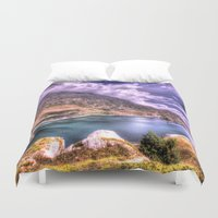 lake Duvet Covers featuring Lake by Danto