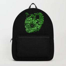 Green Panda Backpack