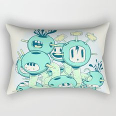 Many Heads are Better than None Rectangular Pillow