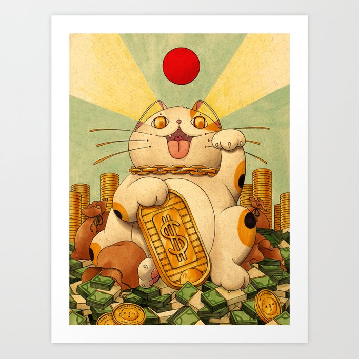 Cash Money Art Print