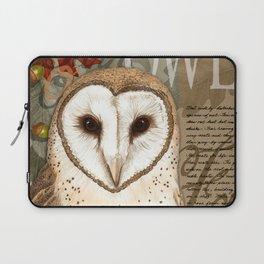 The Barn Owl Journal Laptop Sleeve