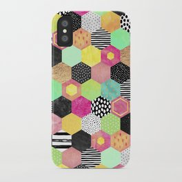 Color Hive iPhone Case