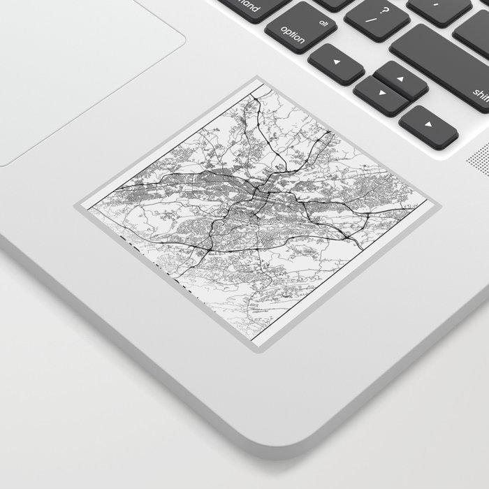 Minimal City Maps - Map Of Birmingham, Alabama, United States Sticker on calendar stickers, kentucky stickers, hawaii map stickers, usa patchwork map stickers, wyoming stickers, barbados map stickers, mississippi stickers, states visited maps stickers, north carolina stickers, united states state abbreviations,