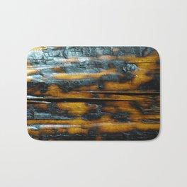 Wyoming Yellowstone Wildfire Log  Bath Mat
