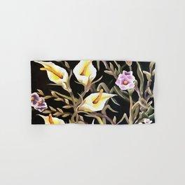 Arum Lily Artistic Floral Design Hand & Bath Towel