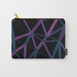 3D Futuristic GEO Lines Carry-All Pouch