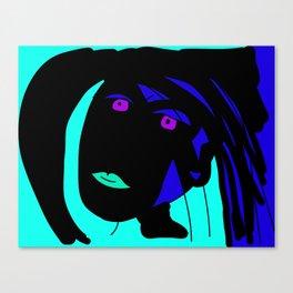 Portret of me Canvas Print