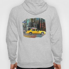 Yellow Taxi Cab on 5th Avenue Hoody