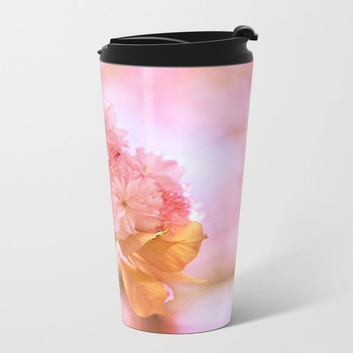 Sakura - Cherryblossom - Cherry blossom - Pink flowers 2 Metal Travel Mug